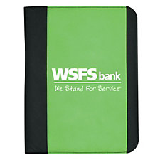 Non-Woven Large Padfolio - 10 in. x 13 in. - WSFS