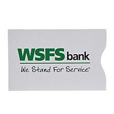 RFID Blocker Credit Card Sleeve - WSFS
