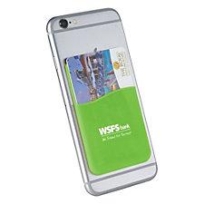 Slim Silicone Card Wallet - WSFS
