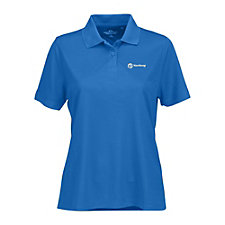 Ladies Vansport Omega Solid Mesh Tech Polo Shirt - Yanfeng