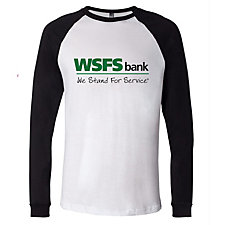 Canvas Long Sleeve Baseball Jersey T-Shirt - WSFS
