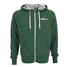 Unisex Heather French Terry Full-Zip Hoodie - WSFS