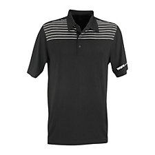 Greg Norman Play Dry Engineered Stripe Polo Shirt - WSFS