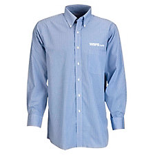 Van Heusen Easy-Care Gingham Check Shirt - WSFS