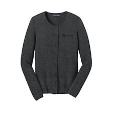 Port Authority Ladies Cardigan Sweater - Yanfeng