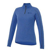 Ladies Taza Knit Quarter Zip - Yanfeng