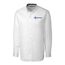 Clique Long Sleeve Bergen Twill Shirt - Yanfeng