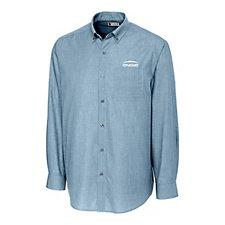 Clique Halden Stain Resistant Long Sleeve Poplin Shirt - ENGIE