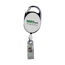 Retractable Badge Reel with Clip - (1PC) - WSFS