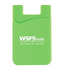 Silicone Phone Wallet - (LowMin) - WSFS