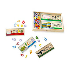 Melissa & Doug See & Spell Learning Puzzles