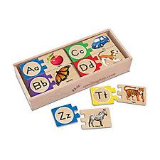 Melissa & Doug Alphabet Letter Puzzles