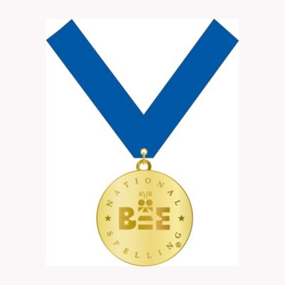 Spelling Bee Medal with Ribbon