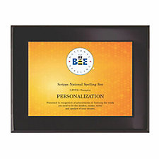 Benchmark Onyx Small Plaque Award