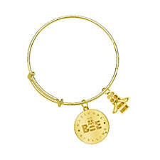 Gold Bracelet with Charms (1PC)