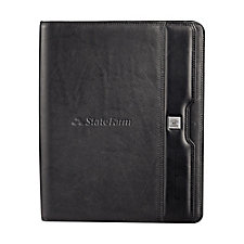 Cutter and Buck Performance Zippered Padfolio - 13 x 10.75
