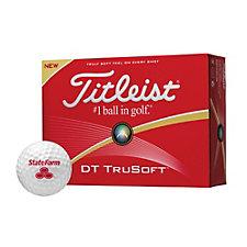 Titleist DT Trusoft Golf Balls - Dozen