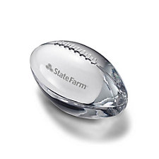 Tiffany & Co. Football Paperweight