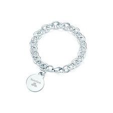 Tiffany & Co. Round Tag Charm Bracelet