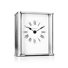 Tiffany & Co. Rectangular Mantel Clock