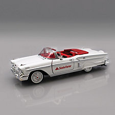 State Farm 1958 Chevrolet Impala Convertible - 1:24 Scale