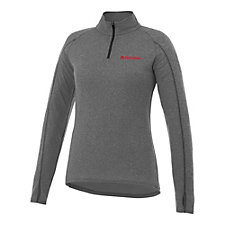Ladies Taza Knit Quarter Zip Pullover
