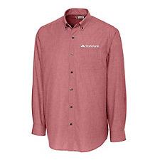 Clique Mens Halden Stain Resistant Button Down Shirt