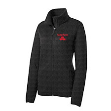 Ladies Port Authority Sweater Fleece Jacket