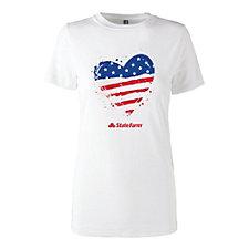 Ladies Patriotic Triblend Super Soft T-Shirt - Limited Edition