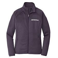 The North Face Ladies Canyon Flats Fleece Jacket