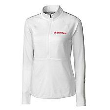 Cutter & Buck Ladies Pennant Sport Quarter Zip Jacket