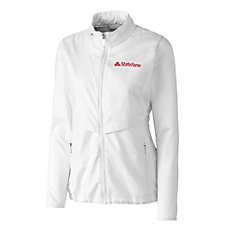 Cutter & Buck Ladies Ava Hybrid Full Zip Jacket