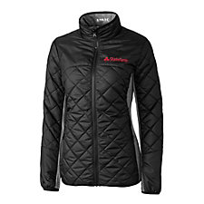 Cutter & Buck Ladies WeatherTec Sandpoint Quilted Jacket