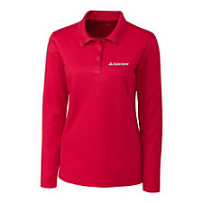 Clique Ladies Long Sleeve Spin Polo Shirt