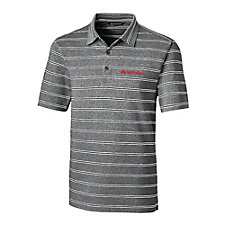 Cutter & Buck DryTec Forge Heather Stripe Polo Shirt