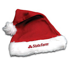 Plush Santa Hat (1PC)