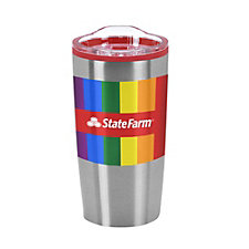 Economy Stainless Tumbler - 20 oz. - (1PC) - Pride