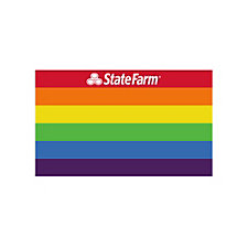 Pride Decal (Pack of 25) - 3 in. x 5 in.