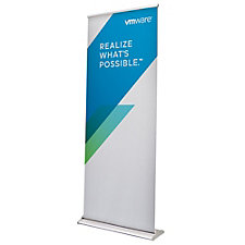 Change Agent Retractor Banner Kit - 33 in. x 80 in.