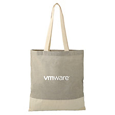 Split Recycled Cotton Twill Convention Tote