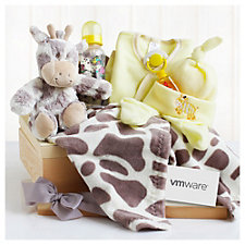 Giraffe Baby Toy Gift Set