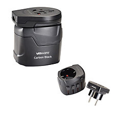 SKROSS World Travel Adapter with USB Port - VMware Carbon Black