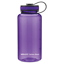 h2go Wide Tritan Plastic Water Bottle - 34 oz. - VMware Carbon Black