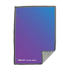 Premium Microfiber Cleaning Cloth - 5 in. x 7 in. - VMware Carbon Black