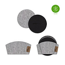 4-pack Coaster Set and Cup Sleeve