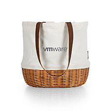 Coronado Canvas and Willow Basket