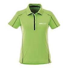 Ladies Macta Short Sleeve Polo Shirt - 3D Logo