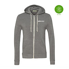 Alternative Eco-Fleece Rocky Unisex Hooded Full-Zip Sweatshirt