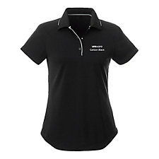 Ladies Remus Short Sleeve Polo Shirt - VMware Carbon Black