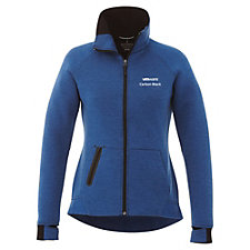 Ladies Kariba Knit Jacket - VMware Carbon Black